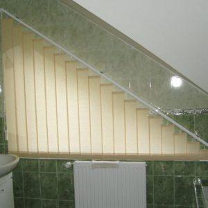 Вертикальные жалюзи в ванную комнату