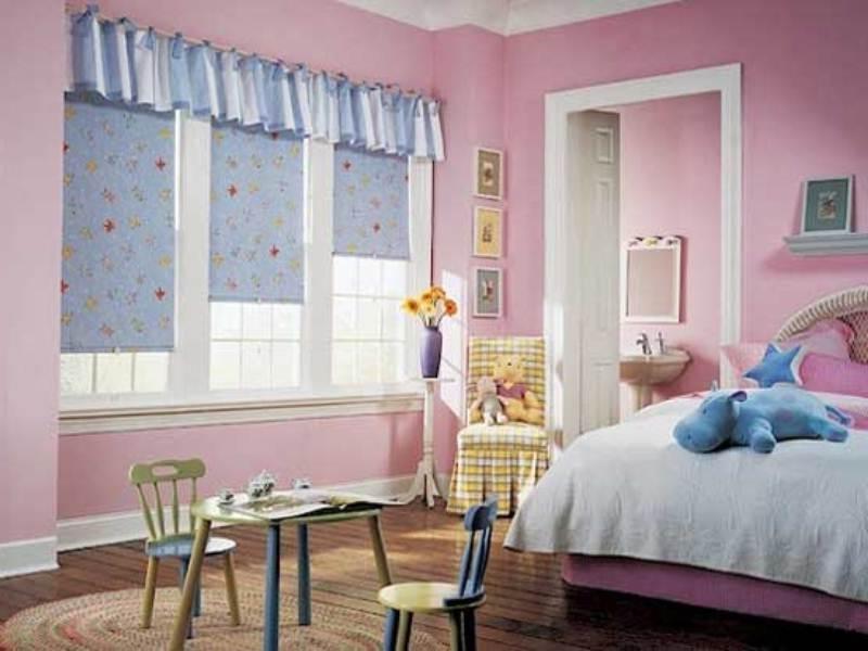 Выбираем рулонные шторы в детскую комнату